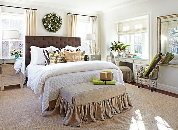 Adorable Bedroom Decor Ideas For Christmas and Special Occasion _12