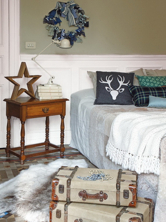 Adorable Bedroom Decor Ideas For Christmas and Special Occasion _22