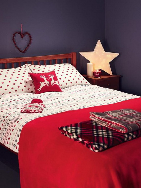Adorable Bedroom Decor Ideas For Christmas and Special Occasion _24