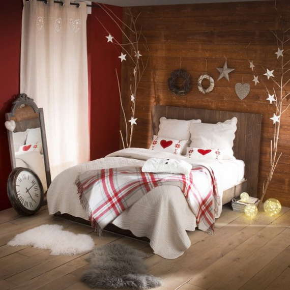 Adorable Bedroom Decor Ideas For Christmas and Special Occasion _28