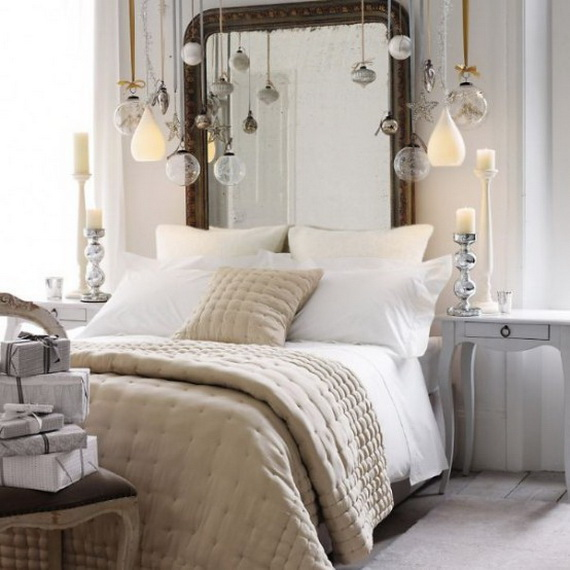 Adorable Bedroom Decor Ideas For Christmas and Special Occasion _31