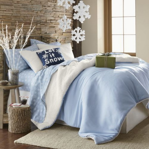 Adorable Bedroom Decor Ideas For Christmas and Special Occasion _45