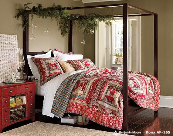 Adorable Bedroom Decor Ideas For Christmas and Special Occasion _57