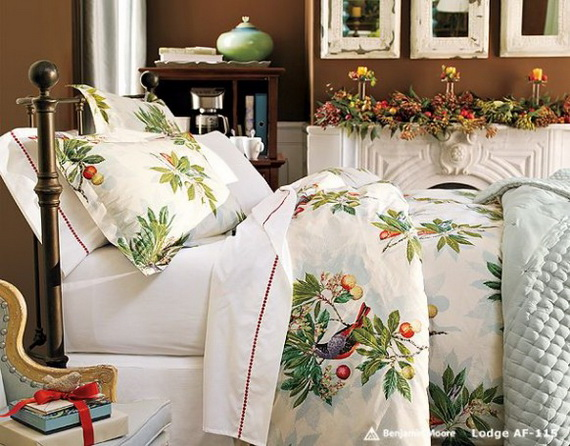 Adorable Bedroom Decor Ideas For Christmas and Special Occasion _60