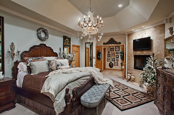 Adorable Bedroom Decor Ideas For Christmas and Special Occasion _62