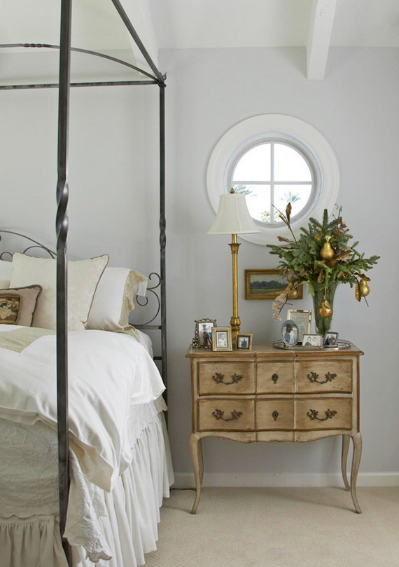 Adorable Bedroom Decor Ideas For Christmas and Special Occasion _65