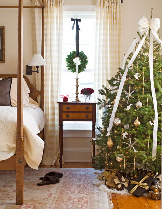 Adorable Bedroom Decor Ideas For Christmas and Special Occasion _72