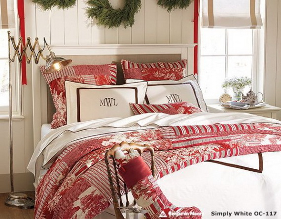 Adorable Bedroom Decor Ideas For Christmas and Special Occasion _78