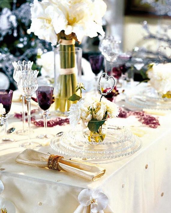 Amazing Christmas Dinner Table Decoration Ideas_16