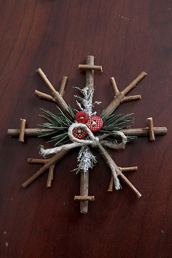 Creative Christmas Snowflake Decorating Ideas_009
