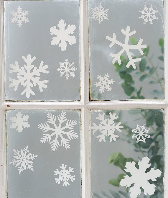 Creative Christmas Snowflake Decorating Ideas_063