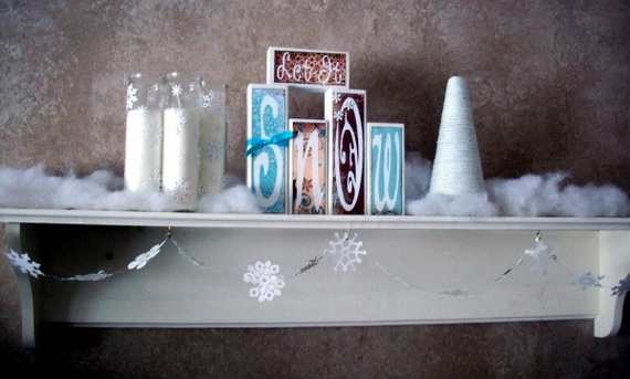Creative Christmas Snowflake Decorating Ideas_096