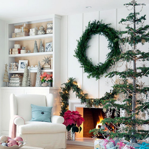 Creative Christmas Wreath Decor Ideas_02