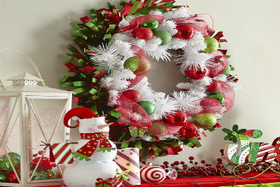 70 Creative Christmas Wreath Decor Ideas