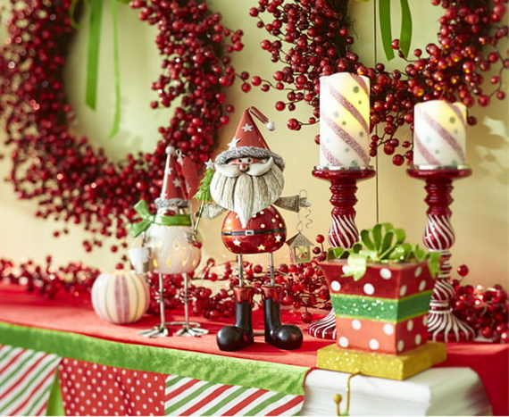 Creative Christmas Wreath Decor Ideas_65