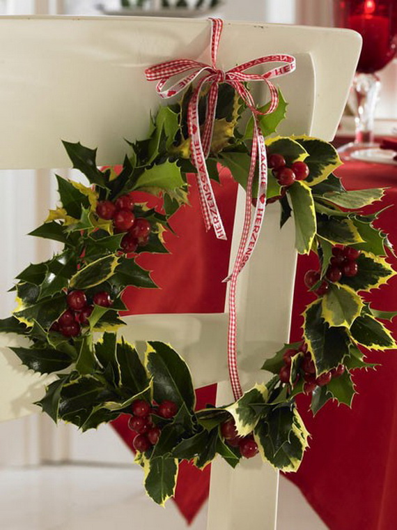 Creative Christmas Wreath Decor Ideas_67