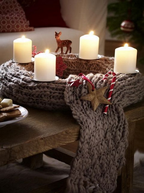 Cute And Cozy Knitted Christmas Decorations_20