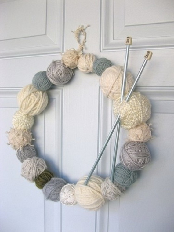 Cute And Cozy Knitted Christmas Decorations_27