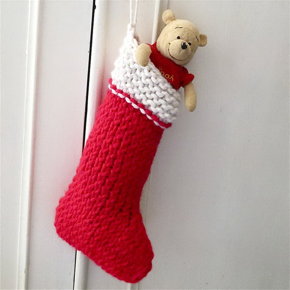 Cute And Cozy Knitted Christmas Decorations_41