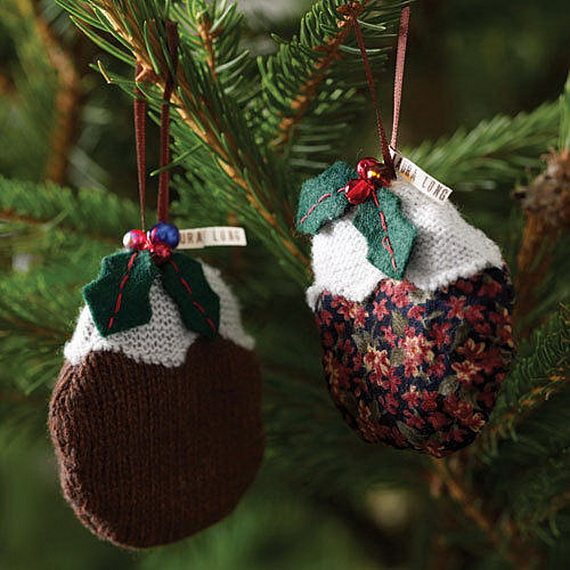 Cute And Cozy Knitted Christmas Decorations_43