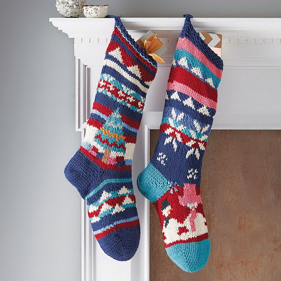 Cute And Cozy Knitted Christmas Decorations_48
