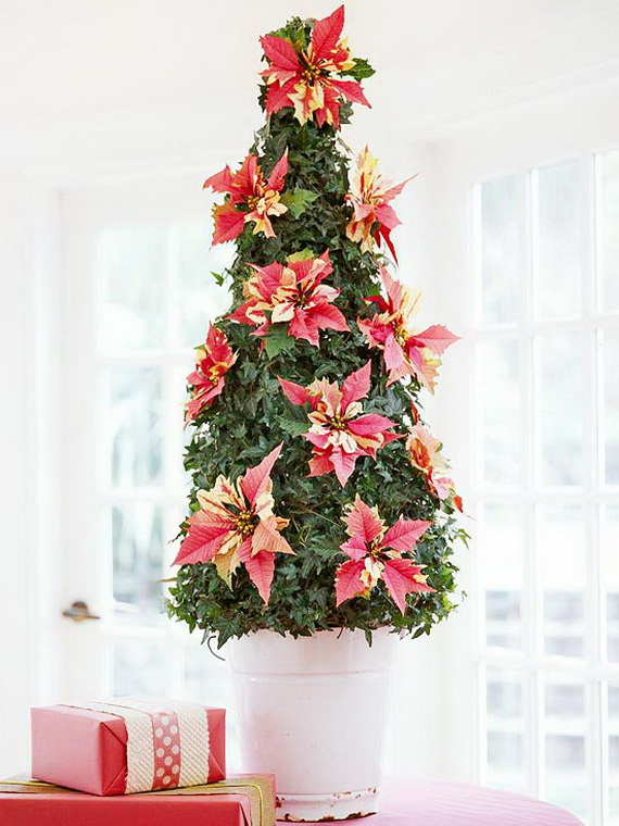 Decorate Christmas with 45 ideas poinsettias the holidays' most loved plant_17
