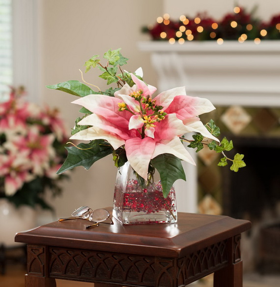Decorate Christmas with 45 ideas poinsettias the holidays' most loved plant_33