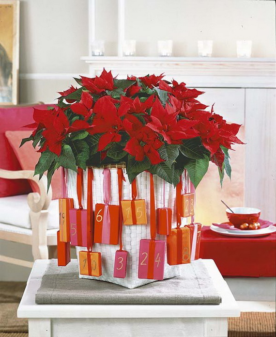 decorate christmas with 45 ideas poinsettias the holidays most loved plant_43 - Poinsettia Christmas Decorations