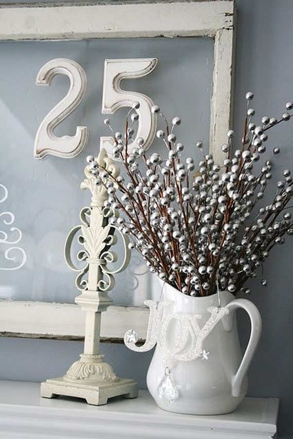 Wonderful Blue White and Silver Christmas Decorating Ideas 570 x 854 · 153 kB · jpeg