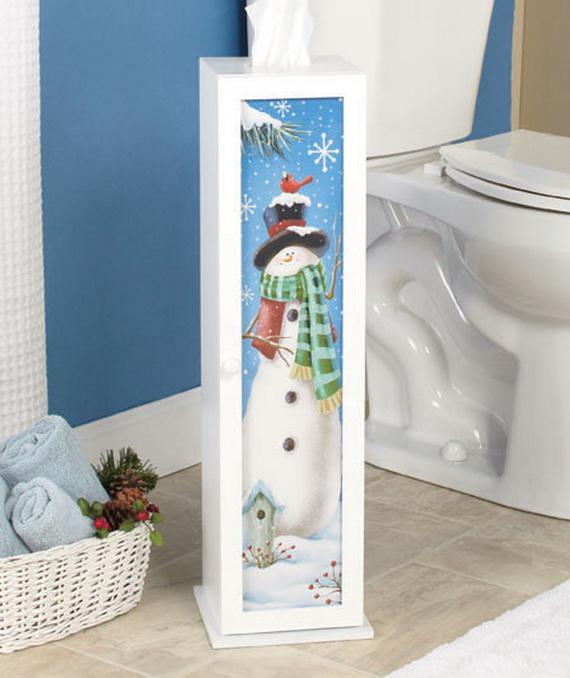 Festive Bathroom Decorating Ideas For Christmas_18