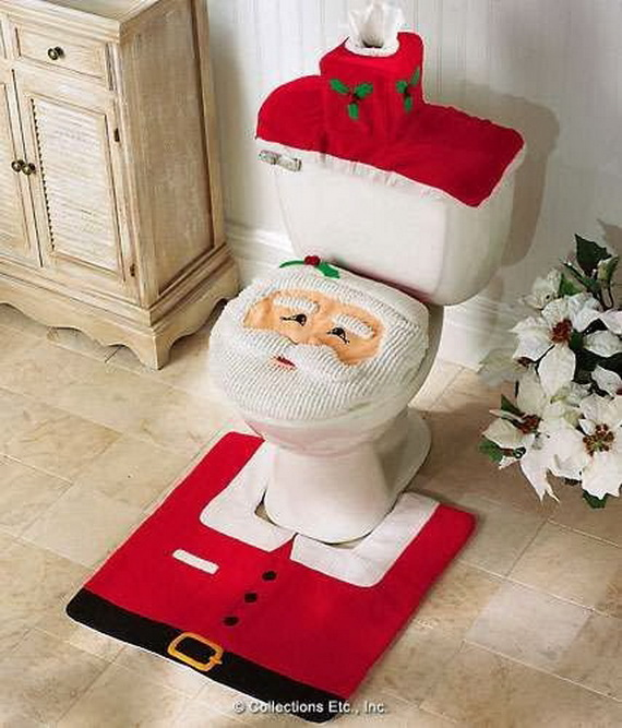 Festive Bathroom Decorating Ideas For Christmas_53