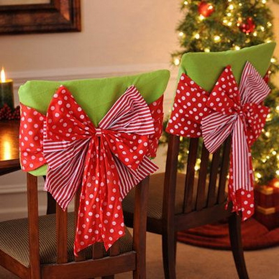 35 Festive Holiday Chair Decorations Family Holiday Net