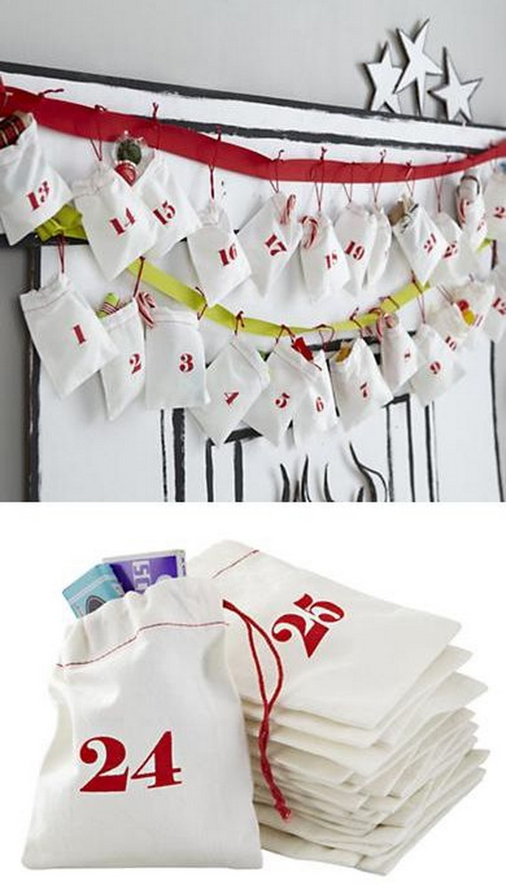 Fun Christmas Crafts With 50 Great Homemade Advent Calendars Ideas_01