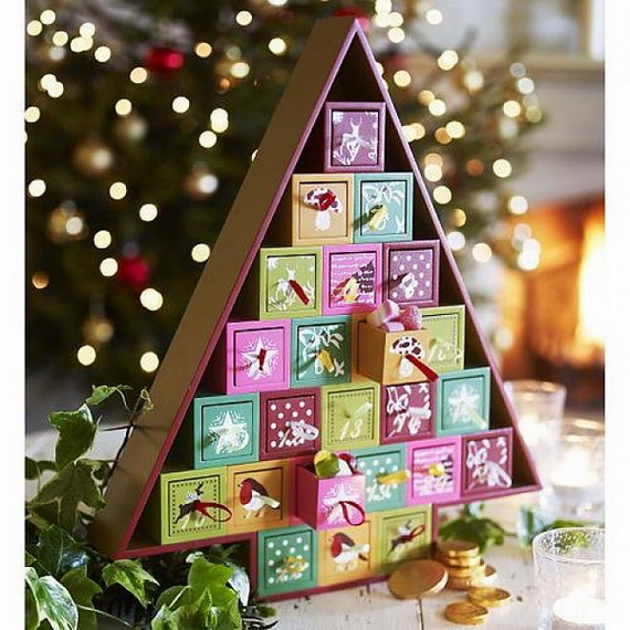 Fun Christmas Crafts With 50 Great Homemade Advent Calendars Ideas_14