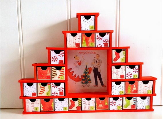 Fun Christmas Crafts With 50 Great Homemade Advent Calendars Ideas_16