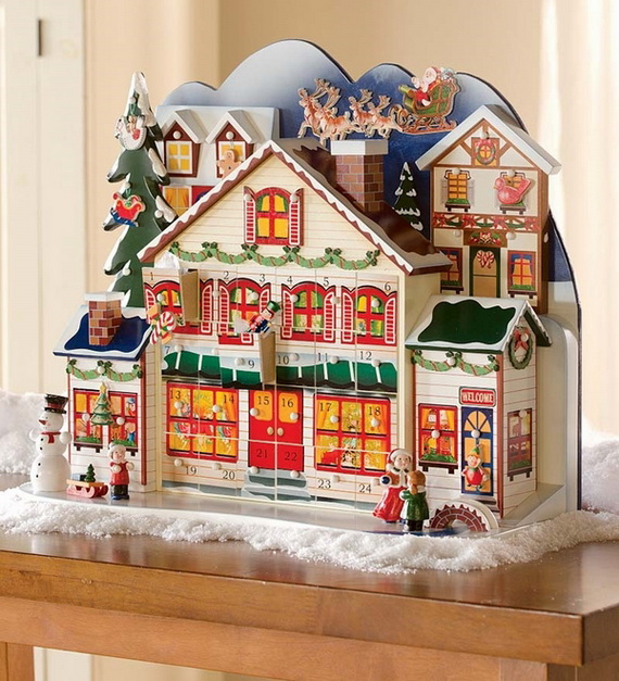 Fun Christmas Crafts With 50 Great Homemade Advent Calendars Ideas_20