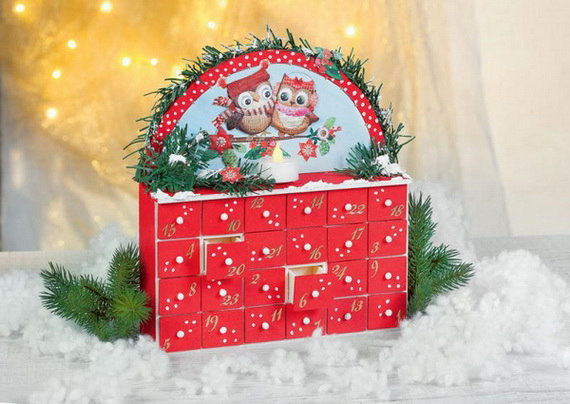 Fun Christmas Crafts With 50 Great Homemade Advent Calendars Ideas_22