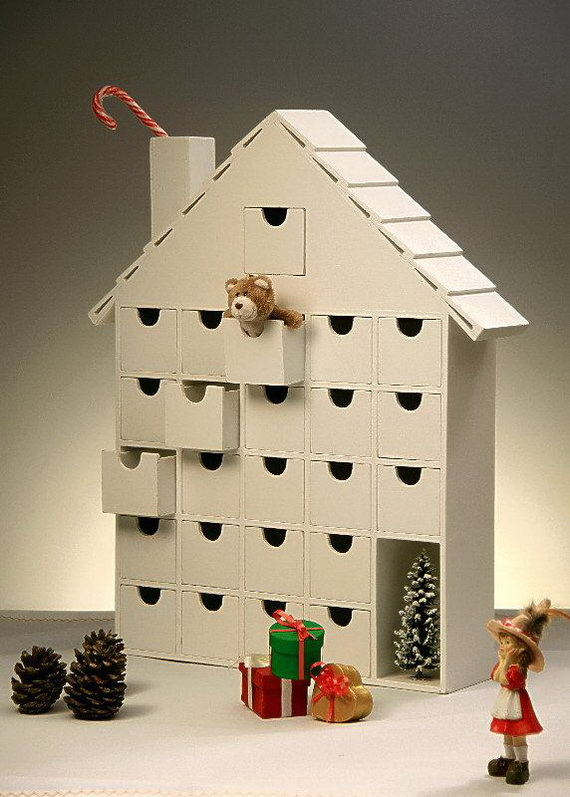 Fun Christmas Crafts With 50 Great Homemade Advent Calendars Ideas_24