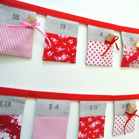 Fun Christmas Crafts With 50 Great Homemade Advent Calendars Ideas_27