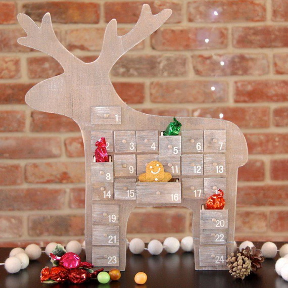 Fun Christmas Crafts With 50 Great Homemade Advent Calendars Ideas_34