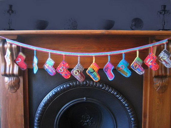 Fun Christmas Crafts With 50 Great Homemade Advent Calendars Ideas_38