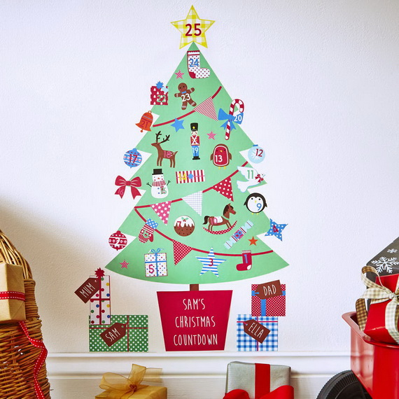 Fun Christmas Crafts With 50 Great Homemade Advent Calendars Ideas_40