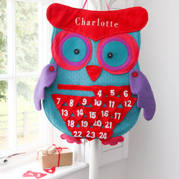 Fun Christmas Crafts With 50 Great Homemade Advent Calendars Ideas_41