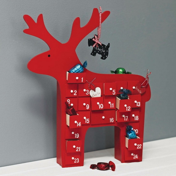 Fun Christmas Crafts With 50 Great Homemade Advent Calendars Ideas_45