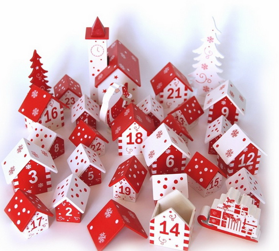 Fun Christmas Crafts With 50 Great Homemade Advent Calendars Ideas_46