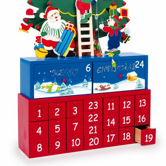 Fun Christmas Crafts With 50 Great Homemade Advent Calendars Ideas_47