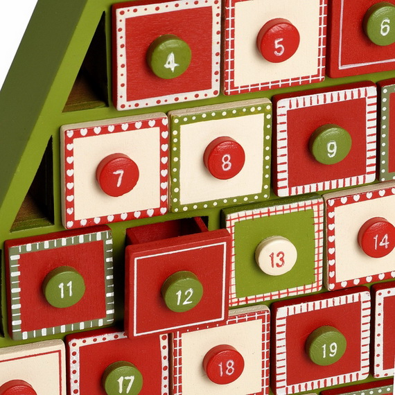Homemade advent calendars ideas calendar template 2016 for Homemade christmas advent calendar ideas