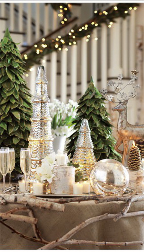 glamorous and affordable mercury glass decor for special occasions 07