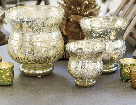 Glamorous And Affordable Mercury Glass Decor For Special Occasions