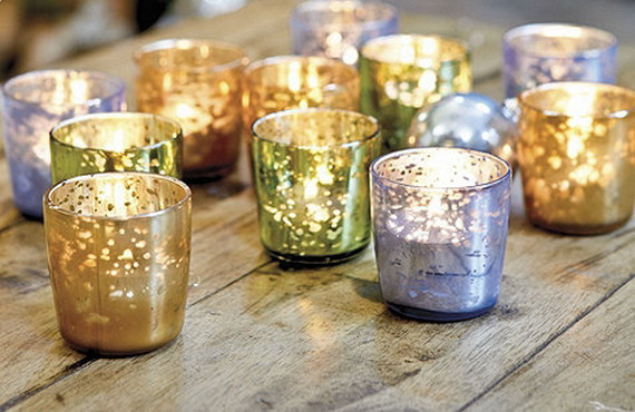 Glamorous And Affordable Mercury Glass Decor For Special Occasions ...